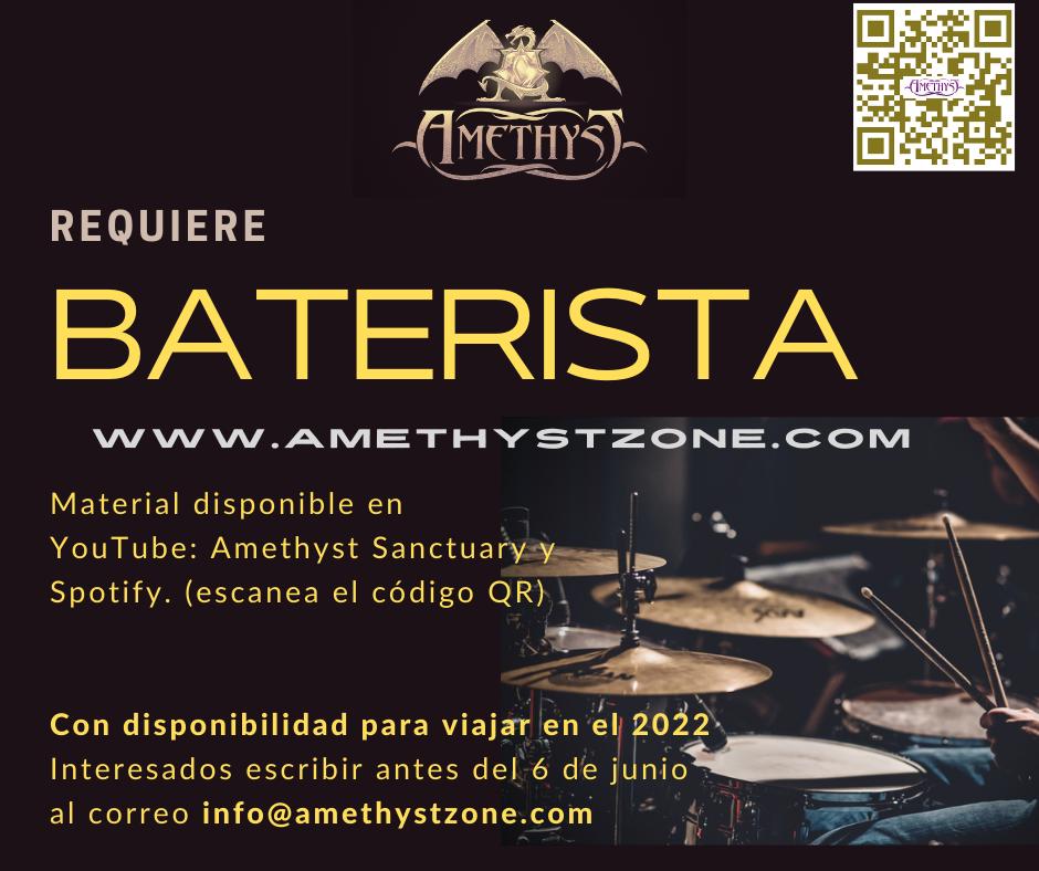 Atención bateristas